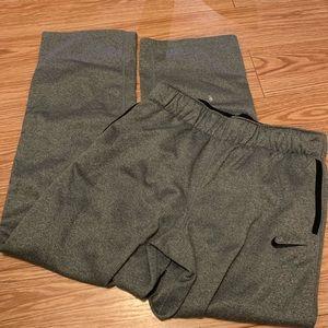 Nike youth large grey joggers